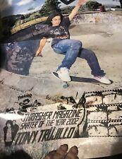 2002 Tony Trujillo Thrasher skateboard poster double sided Soty