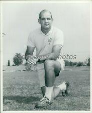 Circa 1969 Don Catlin Los Angeles Rams Coach Original News Service Photo