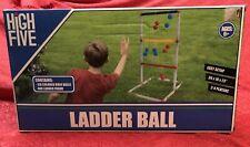 Ladder Toss Ball Game Set - One For Adults & Kids Backyard Beach Lawn Outdoor