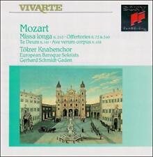 Mozart: Missa Longa Tölzer Knabenchor Audio CD
