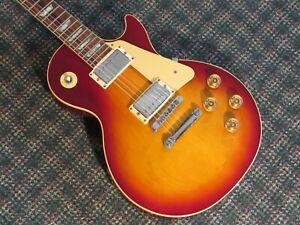Vintage 1989 Gibson USA Les Paul Standard Guitar Cherry Sunburst! w/OHSC