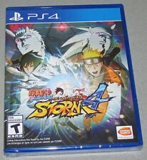 Naruto Shippuden: Ultimate Ninja Storm 4 for Playstation 4 Brand New!