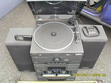 Pioneer PL-J210 Record Deck twin tape radio ,cd, 5band eq sj-120 spekers xrj-210