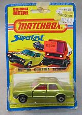 #55 FORD CORTINA 1600 Superfast factory sealed Mint on card
