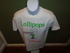 Carlos Mencia autographed signed tour t-shirt size ADULT MEDIUM LOLLYPOPS