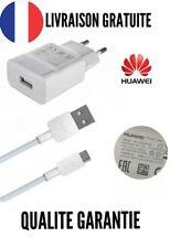 Chargeur Secteur HUAWEI ORIGINAL Adaptateur + USB Cable Huawei P8 Max, P8 Lite