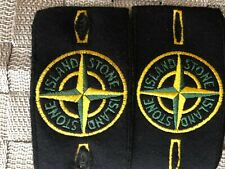 Stone Island badge and buttons GENUINE! x2