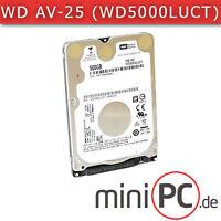 "Western Digital WD AV-25 WD5000LUCT (2.5"" Festplatte/HDD SATA 500GB) Recertified"