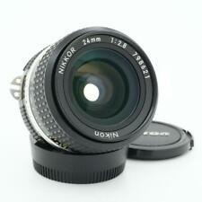 Nikon F 24mm F/2.8 AI-S Lens