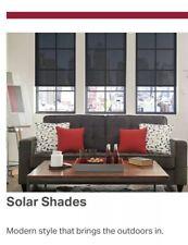 Retractable Solar Window Shade From Bali