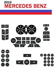 2010 Mercedes Benz Button Premium Repair Package-Steering AC Locks Window Decals