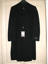 Jeff Banks Wool & Cashmere Overcoat - Size 40 Reg