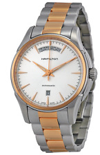 Hamilton Jazzmaster Automatic Mens 40mm Two-Tone Gold & Silver Watch (H32595151)