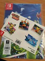 Pokemon Snap Poster and Sticker Set