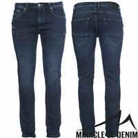M.O.D Herren Jeans Ricardo Slim NOS-1002 Hose NEU Stretch Slim Fit Leg Denim MOD
