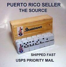 PuertoRico Flag Dominoe Guitar Hobby Souvenir Table Game Sport Isla Caribbean AB