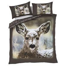 Catherine Lansfield Oh Deer Natural Single Duvet Set