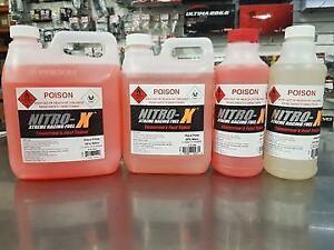 Nitro-X 0499 Yellow Blend A/C 20% N Nitro Fuel 1L for rc carts