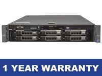 Dell PowerEdge R710 2x Xeon X5675 3.06GHZ SixCore 32GB DDR3 PERC 6i PSUs 2x 870W