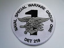 Patch/patch Naval Special Warfare Group One det 219 ca 10cm en blanco