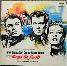KINGS GO FORTH (1958 MUSIC ELMER BERNSTEIN) AUSTRALIA MINT SOUNDTRACK VINYL LP