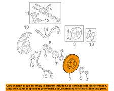 TOYOTA OEM 05-15 Tacoma Front Brake-Disc Rotor 4351204041