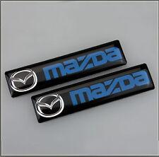 2x Mazda MX3 MX5 MX6 RX7 RX8 CX 2 3 5 6 Badge Emblem Car Door Wing Side 106