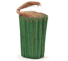"""100ct. 6"""" Green Wooden Copper Wired Picks Florist Wood Stakes Floral Bows Crafts"""