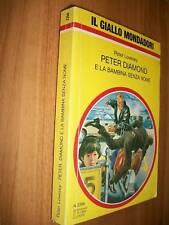 IL GIALLO MONDADORI 2356 PETER LOVESEY PETER DIAMOND E LA BAMBINA SENZA NOME 1&