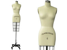 Female Working Dress From Professional dress form Mannequin Size 6 w/Hip+ARM