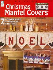 CHRISTMAS MANTEL COVERS QUILTS Quilting Patterns Paperback Crafts Book - English