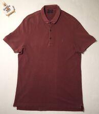 Mens All Saints Polo Shirt XL 'MUSCLE RARE VINTAGE'