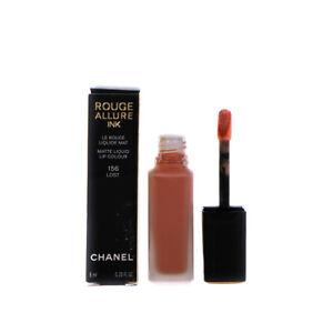Chanel Pink Lipstick Rouge Allure Ink Matte Liquid 156 Lost - Damaged Box