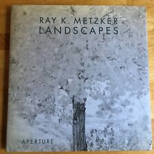 SIGNED Ray Metzker Landscapes First Edition With Press Release