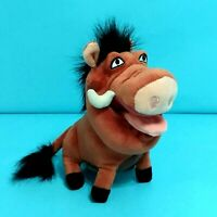 "Disney PUMBA Plush Stuffed Animal Toy 6"" The Lion KIng Character Pellet Seat"