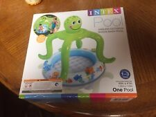Intex Smiling Octopus Shade Baby Pool for ages 1-3