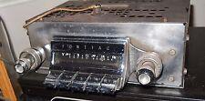 1961 Pontiac Big Car Radio Refurbd Lks & Wks GR8 /One year only/ w/correct knobs