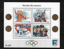 NORWAY MS1064, 1989 WINTER OLYMPICS (1ST) MNH