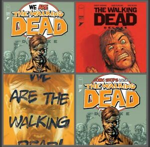 Walking Dead Deluxe #24 Cover A B C D Variant Set Options Image Presale 10/6