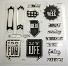 My Life D1572 Close To My Heart scrapbooking journaling calendar date arrows