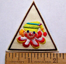 Girl Scout Brownie CLOWNING AROUND TRY IT Council Own Badge Circus Clown Patch