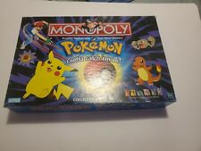 """Pokemon Monopoly Collector's Edition""""- 1999 Board Game complete"""