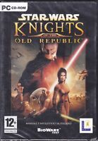 PC Gioco STAR WARS - KNIGHTS OF THE OLD REPUBLIC nuovo italiano sigillato