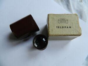 Vintage Miniature Carl Zeiss Telupan Bakelite Monocular with case in box
