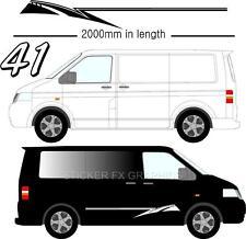 Vehicle Graphic Decals Self Adhesive Vinyl Stickers All Vehicle Camper Vans D41