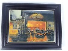 "Harley Davidson King of Road By Dave Barnhouse 5"" X 7"""