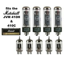 Tung Sol Tube Set for Marshall JVM410H + 410C  includes five 12AX7 and four EL34