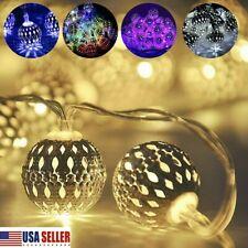 Solar Powered Led Romantic Moroccan Fairy String Lights La 00006000 ntern Garden Lamps Usa
