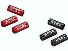 KCNC 4mm Cable de cambio CASQUILLOS SE VENDE EN 10s, Rojo O NEGRO, Ultralight