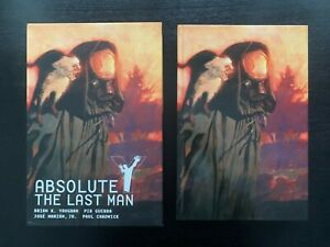 Y: The Last Man Absolute Edition - Complete Set with Slipcases - Volumes 1-3